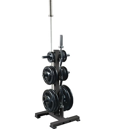 York Barbell 69139 Olympic Plate Tree, Black by York Barbell
