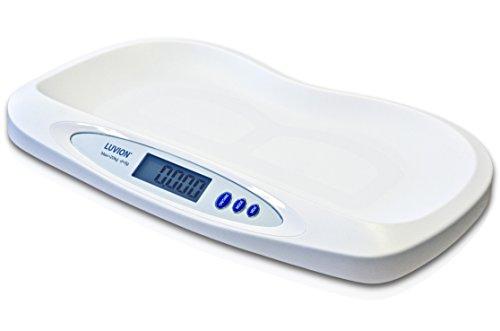 Luvion Exact-65 - Präzise digitale Baby Waage, Stillwaage bis zu 20 kg, 5 g Genau