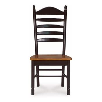 Delicieux Madison Park Ladder Back Chair W Solid Wood Seat   Set Of 2
