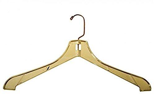 NAHANCO 3700 G Plastic Suit Hangers, Heavy Weight, 17