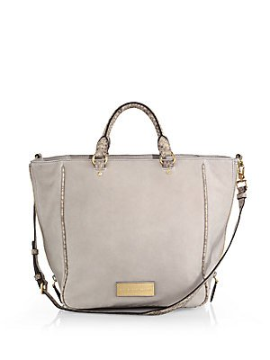 Marc by Marc Jacobs Women's Washed Up Novelty Tote, Pale Taupe Multi, One Size