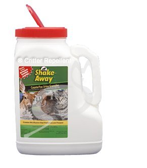 Shake-Away All Natural Cat Repellent for Domestic Cats 12 Lb (Pound) Coyote/Fox Urine Granules (Domestic Cat Repellent)