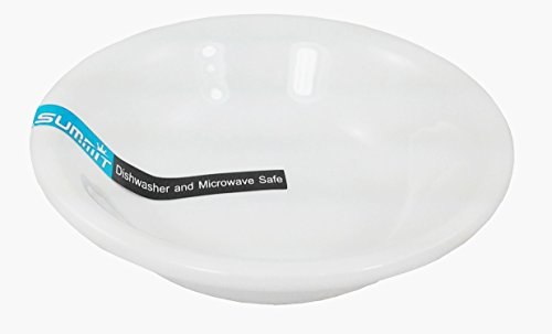 5 Inch Fruit Dish (Thunder Group 1 Dz White Porcelain Round Sauce/Side/Fruit Dishes (5