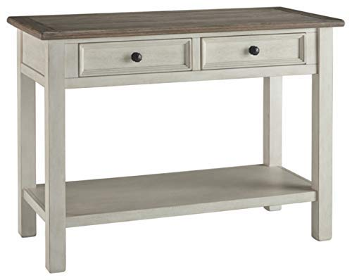 Signature Design by Ashley T637-4 Bolanburg Sofa/Console Table Two-Tone