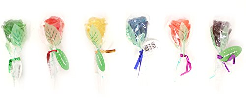 3D Rose Fancy Pops Assorted 6 Flavors – 25CT.