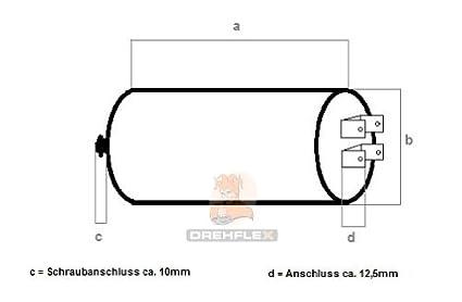 Condensador de arranque de motor para lavadoras, secadoras o ...