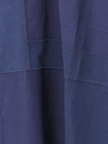 パッチワークオーバーダイ7分袖Tシャツ 75206030061