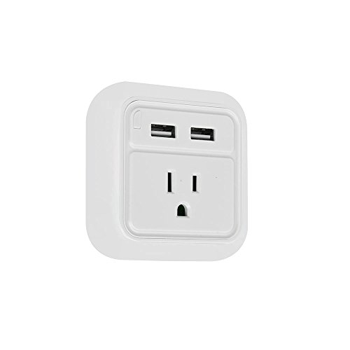 iWireless USA iPower Wall Charger Fast Charging With LED Night Light Dual USB Port For iPhone 6/7/7/8 plus/iPhone X/galaxy s7 s8/note 8 Android USB Wall Charger Multi Port (White-12pcs) by iWireless USA (Image #5)