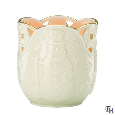 Lenox Christmas Merry Lights Snowman Votive