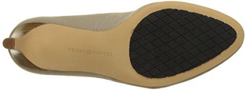 Tommy Hilfiger L1285isette 1d, Zapatos de Tacón para Mujer Marrón (Desert Sand 932)