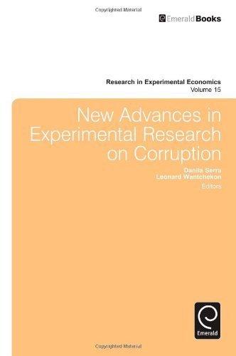 New Advances in Experimental Research on Corruption (Research in Experimental Economics) by Danila Serra (2012-06-06) pdf epub