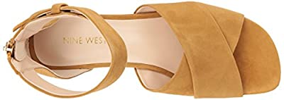 Nine West Women's Yesterday Suede Sandal