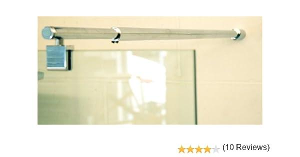 Compatible con cristal de ducha para baño de 1100 mm: Amazon.es: Hogar