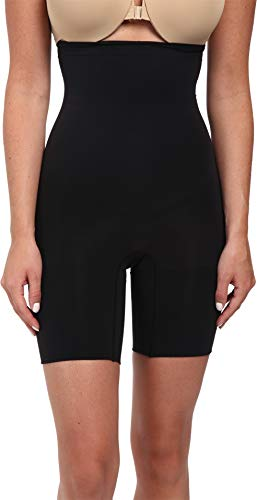 (SPANX Women's Higher Power Shorts, Black MD)