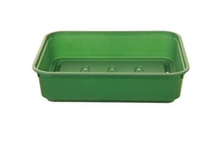 22cm Whitefurze Strong Plastic Vented Propagator Cover Lid Small