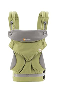 Ergobaby Carrier, 360 All Carry Positions Baby Carrier, Black Camel