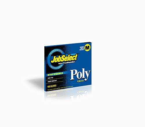 JobSelect 104-GB4 JobSelect Embossed, Poly, MD, Clear (Pack of 10000) by jobselect (Image #1)