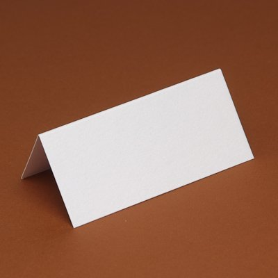 100 Blank Table/Place cards for weddings/partys etc (White Smooth) DIY Wedding & Crafts