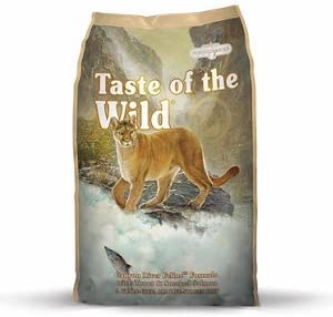 Taste of the Wild Canyon River Dry Cat Food. 5 Pound Bag Trout Smoked Salmon Grain Free Cat Food