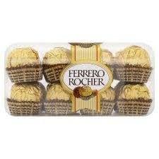 Ferrero rocher sampler