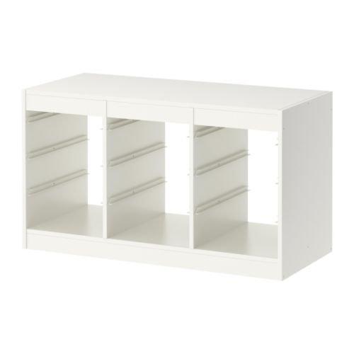 Ikea Trofast –  Cornice, 99 x 56 cm, Colore Bianco 99x 56cm 801.538.00