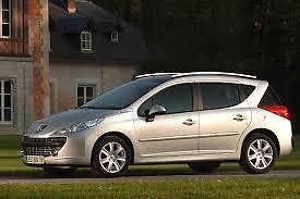 Peugeot 207 Estate 2007 to 2016 05/% Very Dark Limo Tint PSSC Pre Cut Rear Car Window Films