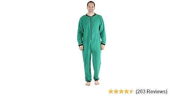 Sleepyheads Mens Sleepwear Fleece Non Footed Color Onesie Pajamas Jumpsuit