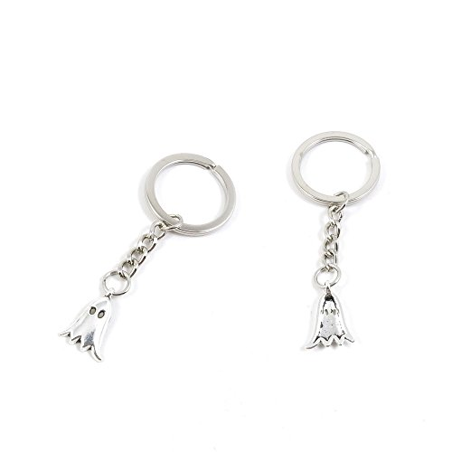 1 Pieces Keychain Keyring Door Car Key Chain Ring Tag Charms Supply L7EK8Q Ghost
