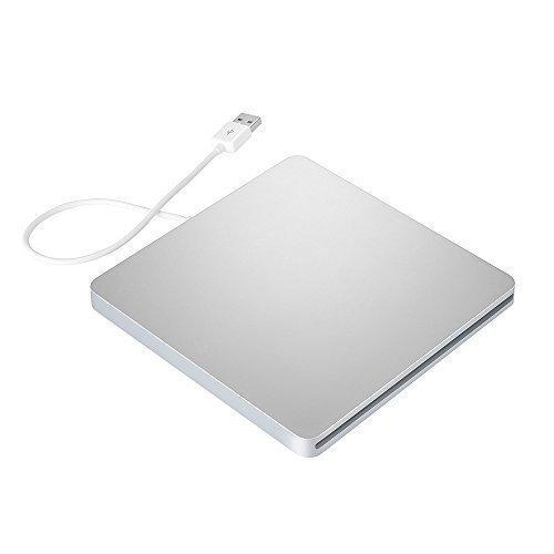 DoHonest ZSMJ External USB Slot DVD VCD CD Driver DVD-RW CD-RW Burner Superdriver for MacBook Air,MacBook Pro (Silver) by DoHonest (Image #5)
