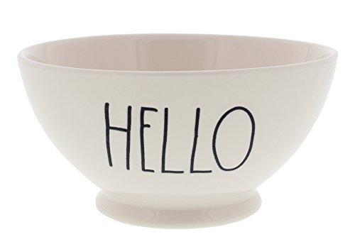 Rae Dunn Magenta Artisan Collection Soup Cereal Bowl HELLO