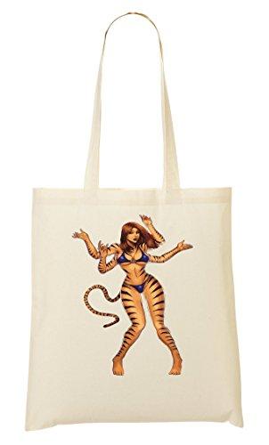 Bolso Bolsa Crazy De Mano La Woman Cat Compra De Tiger w1ZtfWq