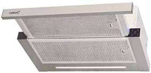 CATA | Campana extractora modelo TFH 663X | 6 niveles de extracción | Campana extractora 60 cm | Velocidad de Extracción MAX 575 m³/h | Potencia sonora mínima 46 dB |: Amazon.es: Grandes electrodomésticos