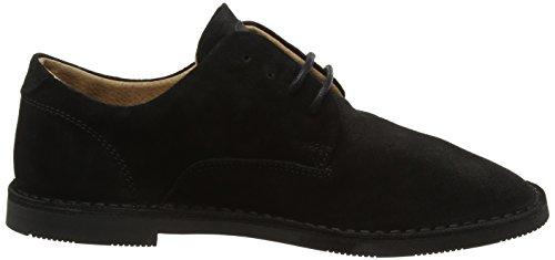 Grant Hush Zapatos para Negro Hombre Derby Puppies Slim Desert Black de Cordones 55H6wrnxZ