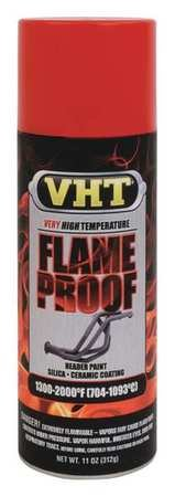 (Flameproof Coating, Flat Red, 11 oz.)