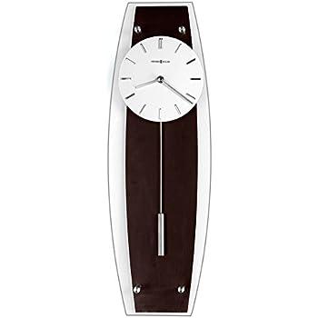 Amazon Com Seiko Wall Pendulum Clock Silver Tone Case On