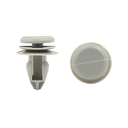eDealMax 100 piezas auto de choque ajuste de la puerta Fender 9mm agujero DE 22 mm