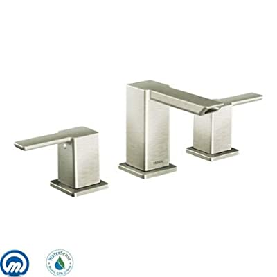 Moen TS6720 Double Handle Widespread Bathroom Faucet from the 90 Degree Collecti,