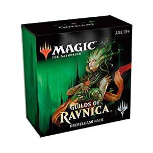 Magic The Gathering: MTG: Guilds of Ravnica Prerelease Pack Golgari (Pre-Pelease Promo + 6 Boosters + d20 Spindown Counter) Kit