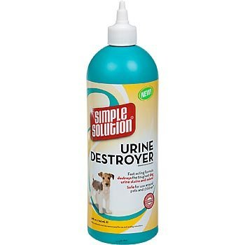 Simple Solution Destructeur d'urine pour le chien Les taches d'urine et les odeurs les plus tenaces BRAMPTONS 12588U