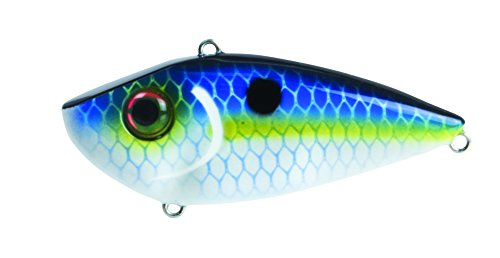 Strike King Red Eye - Strike King Red Eye Freshwater Lipless Crankbait, Juicy Shad, 1/2 oz