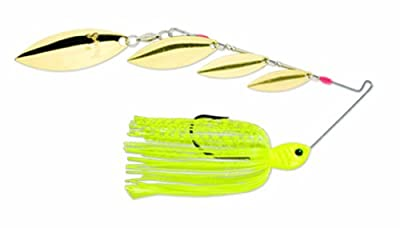 Strike King George Cochrans Quad Shad Spinnerbait - Willow by Strike King Lure Company