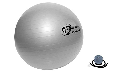 We The Planet Eco Friendly Yoga Fitness & Exercise Ball 55CM, 65CM