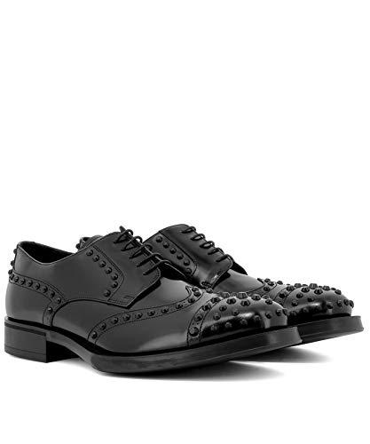 Cuir Chaussures À Homme Lacets Prada 2ee289p39f0002 Noir wqtTRU
