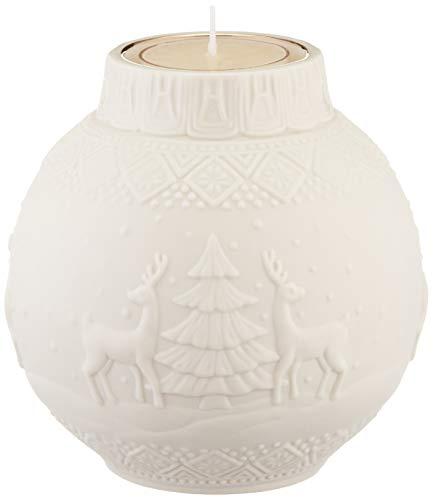 Lenox Ornamental Glow Nordic Votive w/tealight, 2 Piece