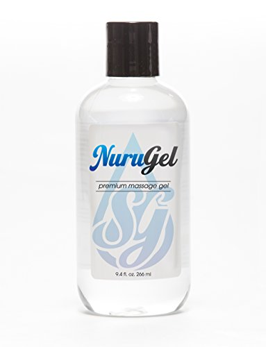Premium Nuru Gel by SG | 9.4 Ounces | Super Thick Gel Made From Seaweed For the Ultimate Body-on-Body Nuru Massage | Made In the USA from Top Quality Ingredients