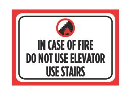 iCandy Combat In Case Of Fire Do Not Use Elevator Use Sta...