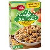 Betty Crocker, Suddenly Pasta Salad, Southwest, 6.6 Ounce Box (Pack of 4)