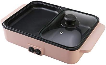 N/A Ménage Multifonction rôtissage Hot Pot Barbecue Un Pot Barbecue poêle Barbecue électromécanique Grill pan Hot Pot