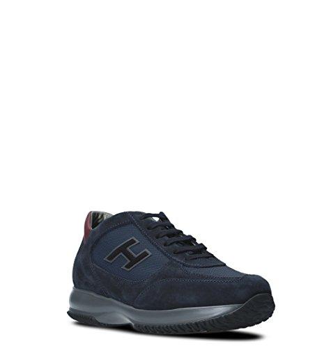 Pelle HXM00N0Q101E1C710N Blu Hogan Uomo Sneakers qtfwx4a7W