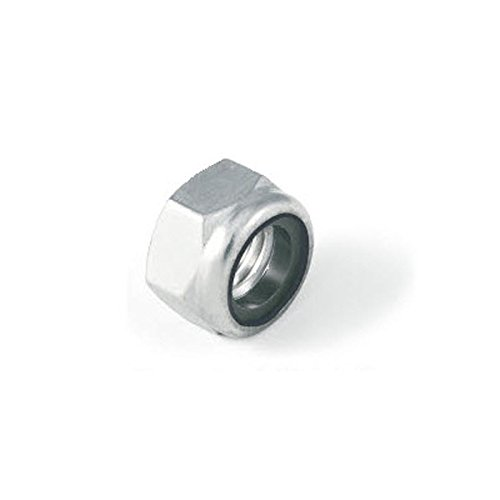M6 Thin Type Nylon Insert Lock nut Nyloc Type. A4 Stainless Steel Pack Size : 15 Generic